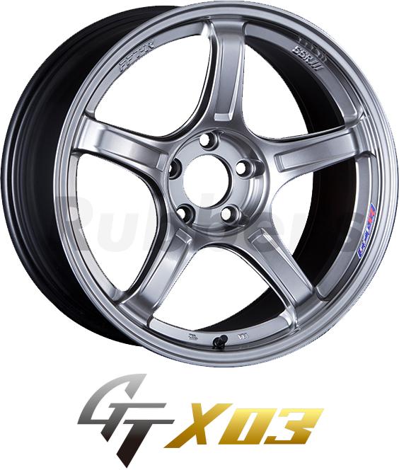 SSR GTX03 17×7J +53 5H PCD114.3の画像