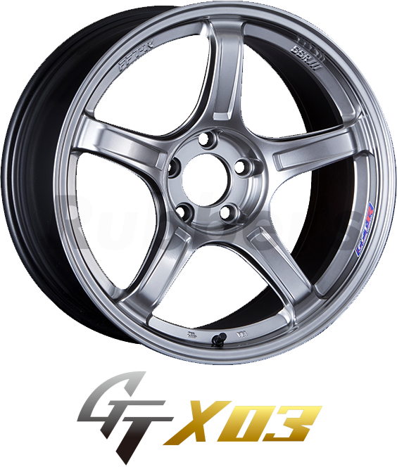 SSR GTX03 18×7.5J +38 5H PCD100の画像
