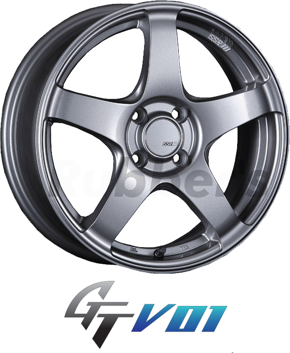 SSR GTV01 15×4.5J +43 4H PCD100 【メーカー在庫限り】の画像