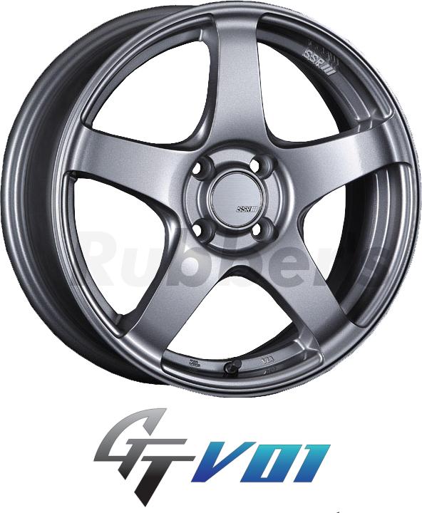 SSR GTV01 16×5J +45 4H PCD100 【メーカー在庫限り】の画像