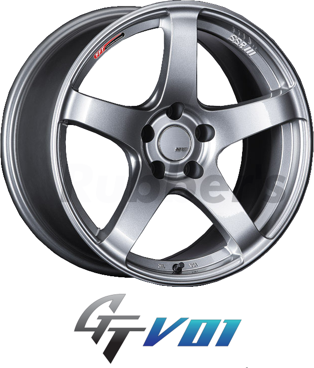SSR GTV01 17×7J +42 5H PCD114.3の画像