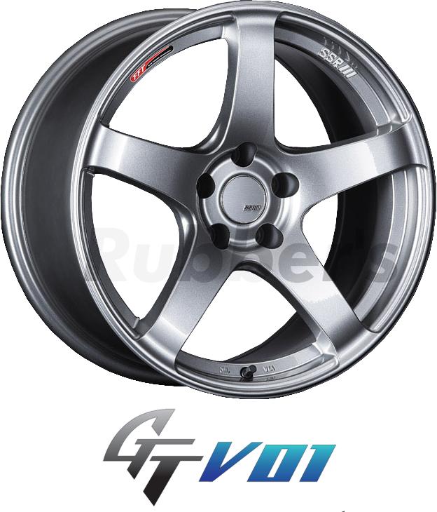 SSR GTV01 17×7J +50 5H PCD114.3の画像