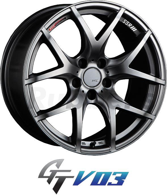 SSR GTV03 18×9J +35 5H PCD114.3 【メーカー在庫限り】の画像