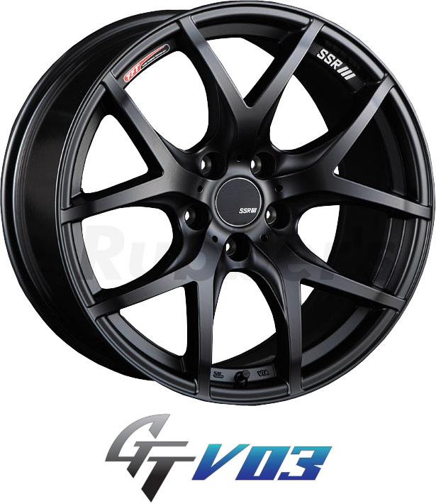 SSR GTV03 19×8.5J +35 5H PCD120 【メーカー在庫限り】の画像