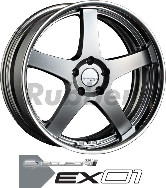 SSR EXECUTOR(エグゼキューター) EX01 19×8J 5H PCD114.3/112/120/特殊100の画像