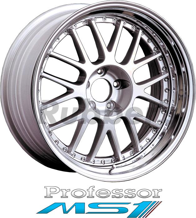 SSR Professor(プロフェッサー) MS1 18×10J 4/5H PCD100/114.3の画像