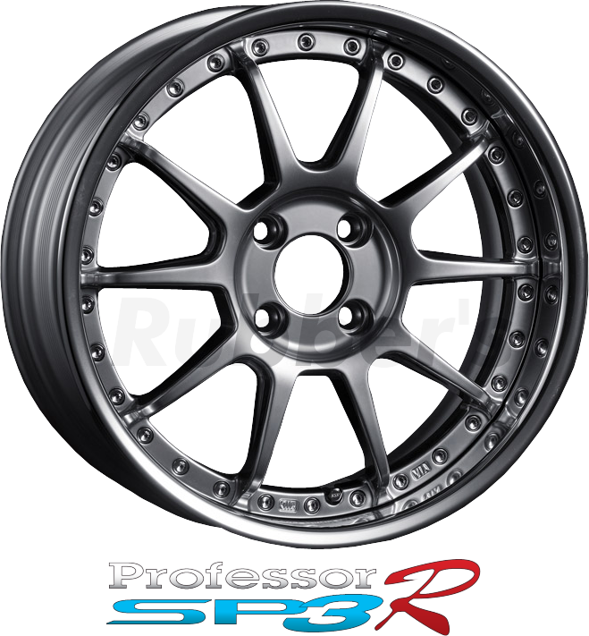 SSR Professor(プロフェッサー) SP3R 17×6J 4/5H PCD100/114.3 【メーカー在庫限り】の画像