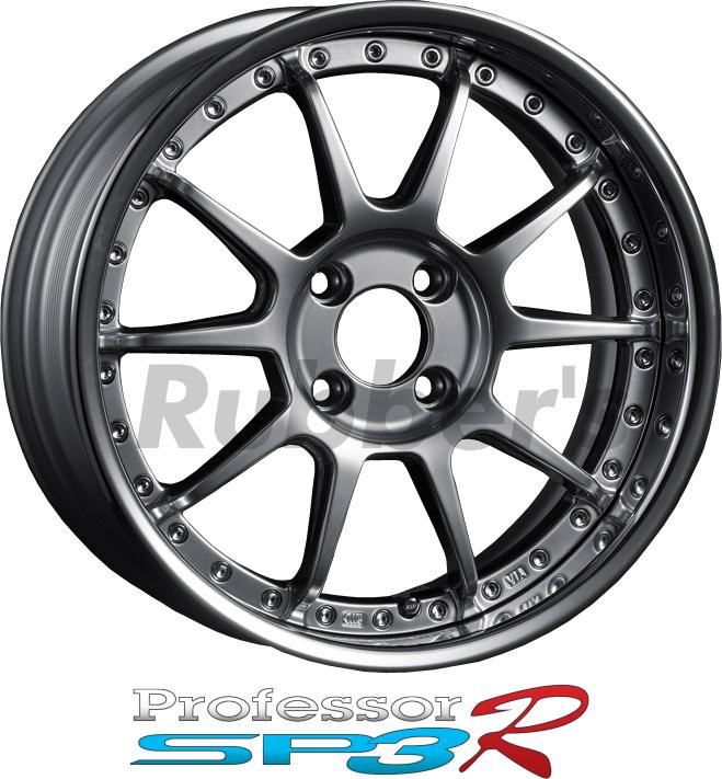 SSR Professor(プロフェッサー) SP3R 17×9J 4/5H PCD100/114.3 【メーカー在庫限り】の画像