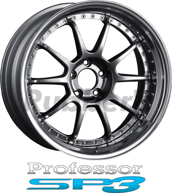 SSR Professor(プロフェッサー) SP3 18×9.5J 4/5H PCD100/114.3 【メーカー在庫限り】の画像