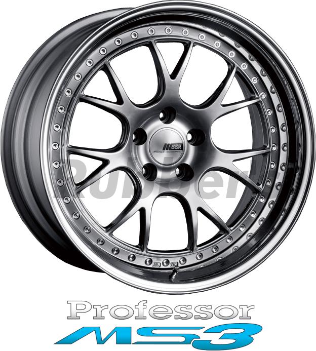 SSR Professor(プロフェッサー) MS3 20×12.5J 5H PCD100/114.3の画像