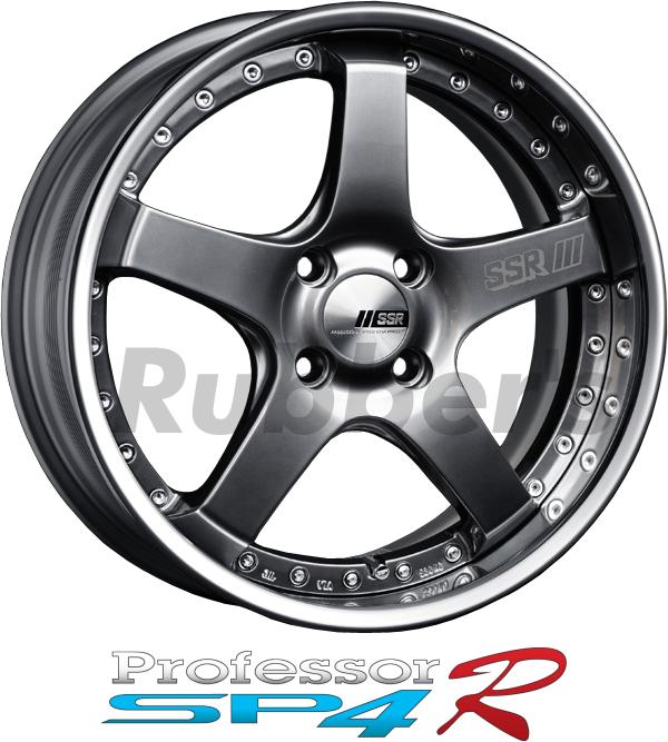 SSR Professor(プロフェッサー) SP4R 17×6J 4/5H PCD100/114.3の画像