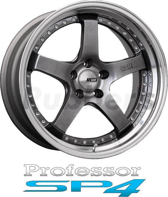 SSR Professor(プロフェッサー) SP4 18×9J 4/5H PCD100/114.3の画像