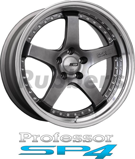 SSR Professor(プロフェッサー) SP4 18×12.5J 4/5H PCD100/114.3の画像
