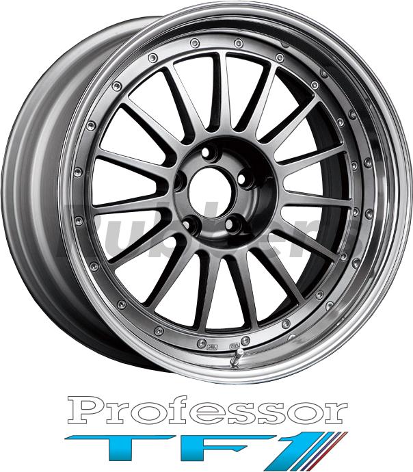 SSR Professor(プロフェッサー) TF1 18×8J 4/5H PCD100/114.3の画像