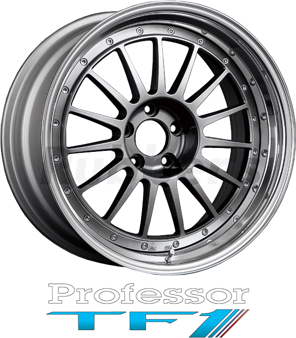 SSR Professor(プロフェッサー) TF1 19×12.5J 5H PCD100/114.3の画像