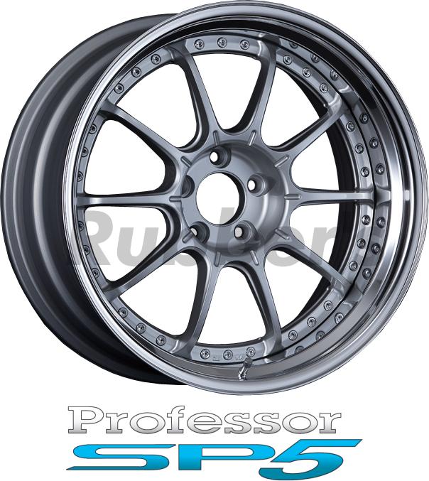 SSR Professor(プロフェッサー) SP5 18×7J 5H PCD100/114.3の画像