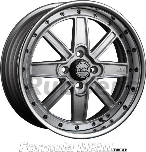 SSR Formula(フォーミュラ) MK-III NEO 16×8.5J 4H PCD100の画像