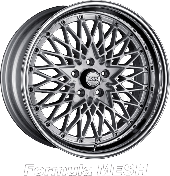 SSR Formula(フォーミュラ) MESH 18×9.5J 5H PCD100/114.3の画像