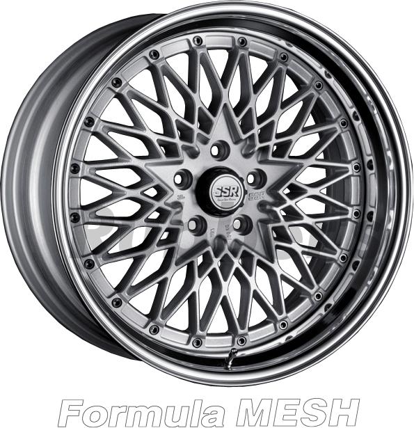 SSR Formula(フォーミュラ) MESH 19×11J 4/5H PCD100/114.3の画像