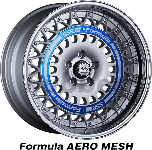 SSR Formula(フォーミュラ) AERO MESH 16×8.5J 4H PCD100の画像