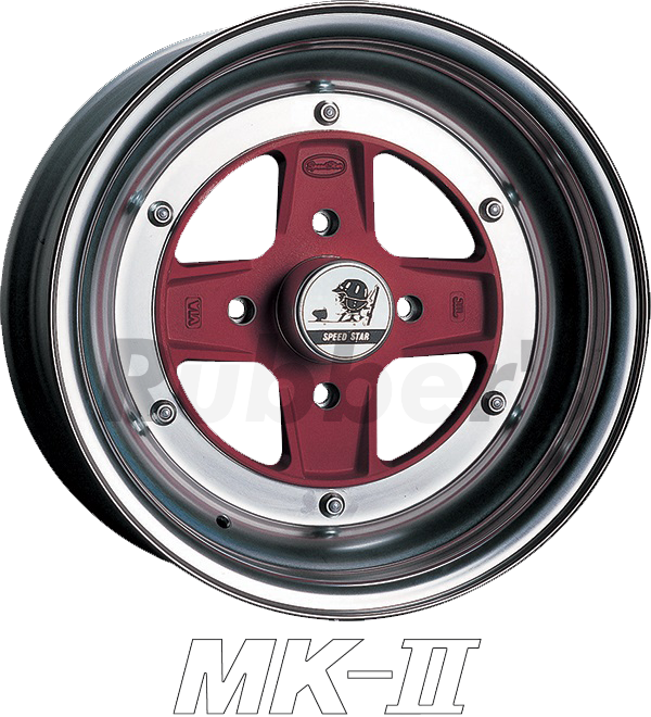 SSR SPEED STAR(スピードスター) MK-II 14×7J 4H PCD100/110/114.3の画像