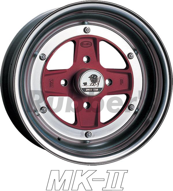 SSR SPEED STAR(スピードスター) MK-II 15×8J 4H PCD100/110/114.3の画像