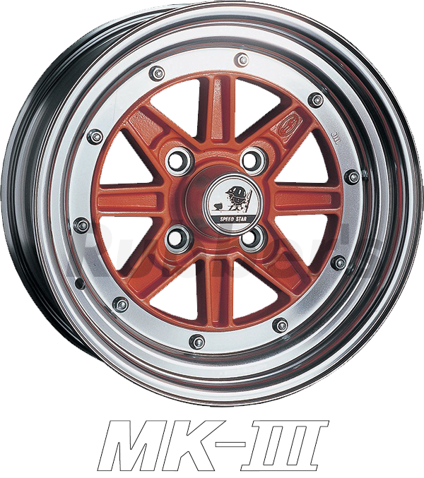 SSR SPEED STAR(スピードスター) MK-III 15×8J 4H PCD100/110/114.3の画像