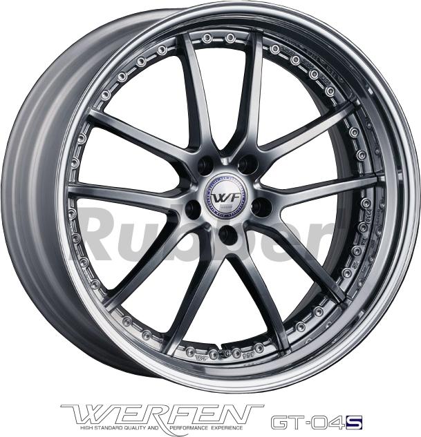 SSR WERFEN(ヴェルフェン) GT-04S 20×7.5J 5H PCD114.3/112/120の画像